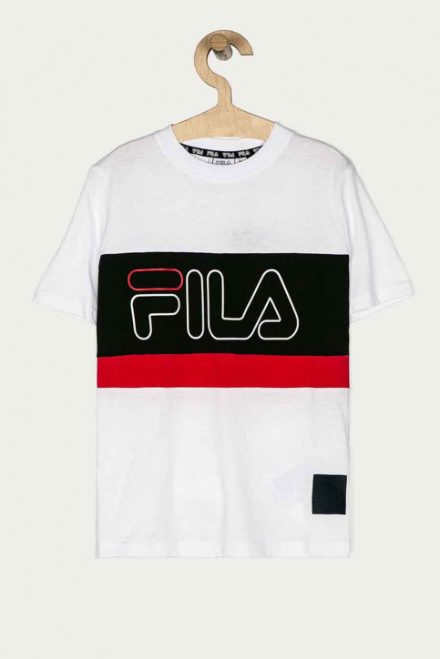 FILA T-shirts manches courtes blanc 688138_A224 BRIGHT WHI img1