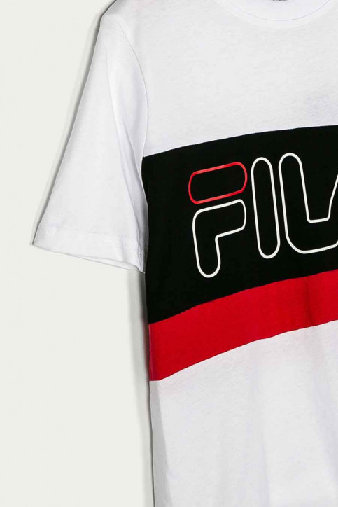 FILA T-shirts manches courtes blanc 688138_A224 BRIGHT WHI img3