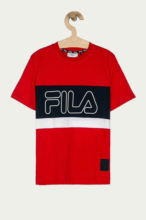 FILA T-shirts manches courtes rouge 688138_R69 TRUE RED BL img1