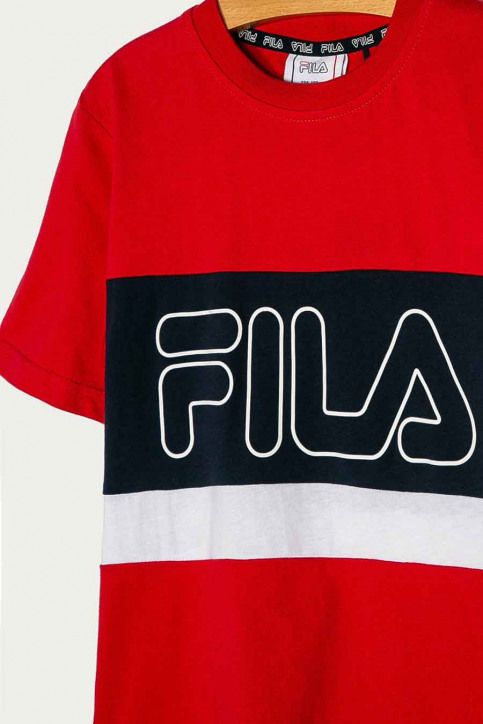 FILA T-shirts manches courtes rouge 688138_R69 TRUE RED BL img2