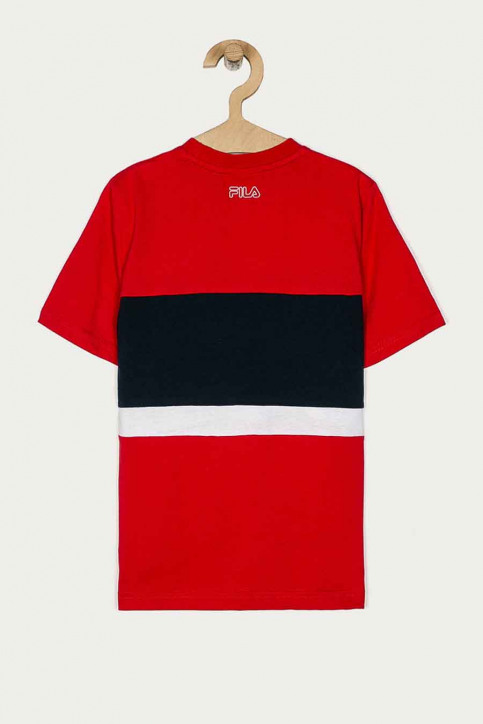 FILA T-shirts manches courtes rouge 688138_R69 TRUE RED BL img3