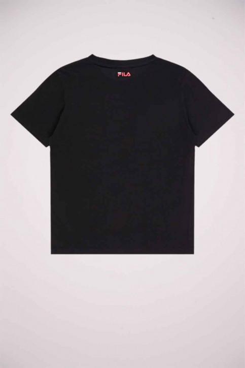 FILA Girls tops t-shirt uni korte mouw zwart 688139_002 BLACK img2