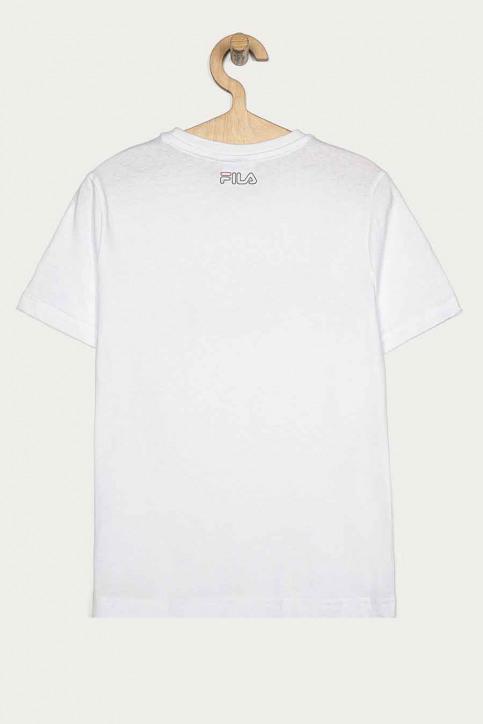 FILA T-shirts manches courtes blanc 688152_M67 BRIGHT WHIT img3