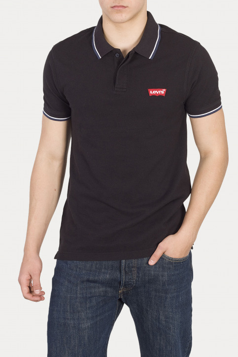 Levi's® Polos noir 699480002_0002 PATCH BL img1