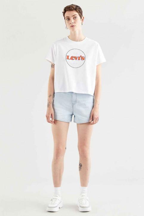 Levi's® T-shirts (korte mouwen) wit 699730153_0153 NEW CIRCLE img1
