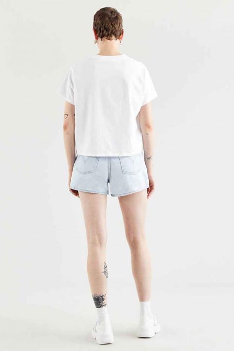 Levi's® T-shirts (korte mouwen) wit 699730153_0153 NEW CIRCLE img3