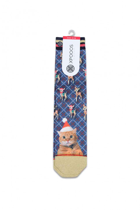 Xpooos Chaussettes multicoloré 70088 XMAS THE BOSS_700 THE BOSS img1