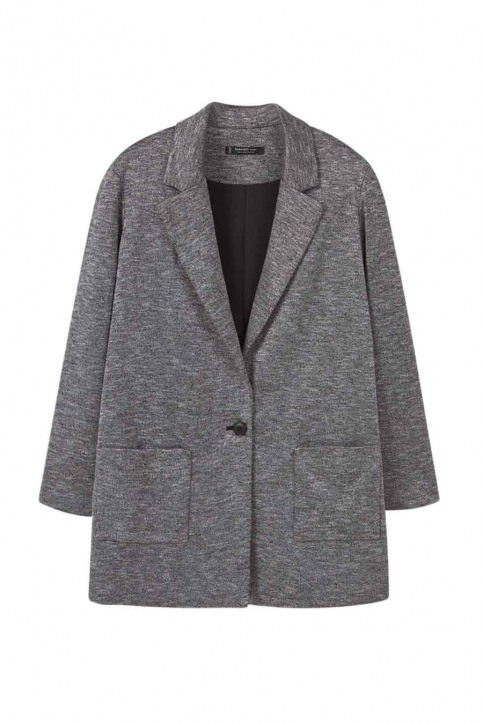 MANGO Blazers gris 71013593_MNG_16_MEDIUM GREY img1
