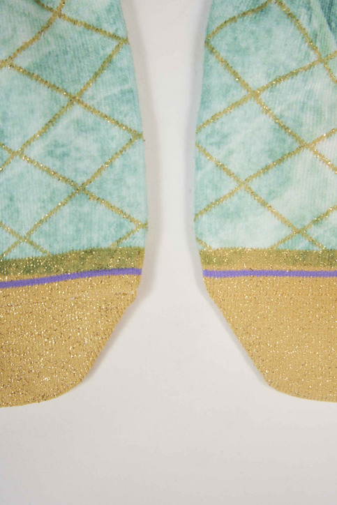 XPOOOS Chaussettes multicoloré 72013_MARBLE img2