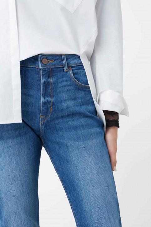 MANGO Jeans boyfriend bleu 73085568_MNG_16_OPEN BLUE img4