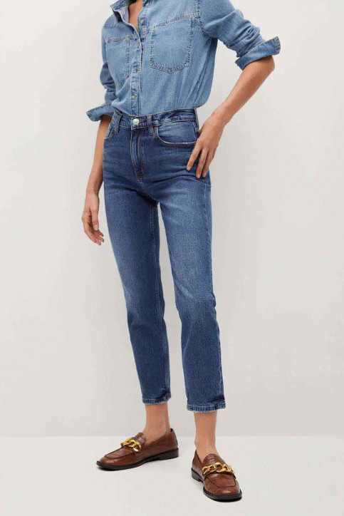 Mango Mom Jeans blauw 77000518 MNG 20_OPEN BLUE img2