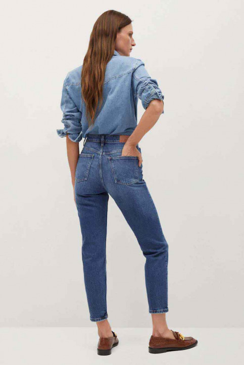 Mango Mom Jeans blauw 77000518 MNG 20_OPEN BLUE img3