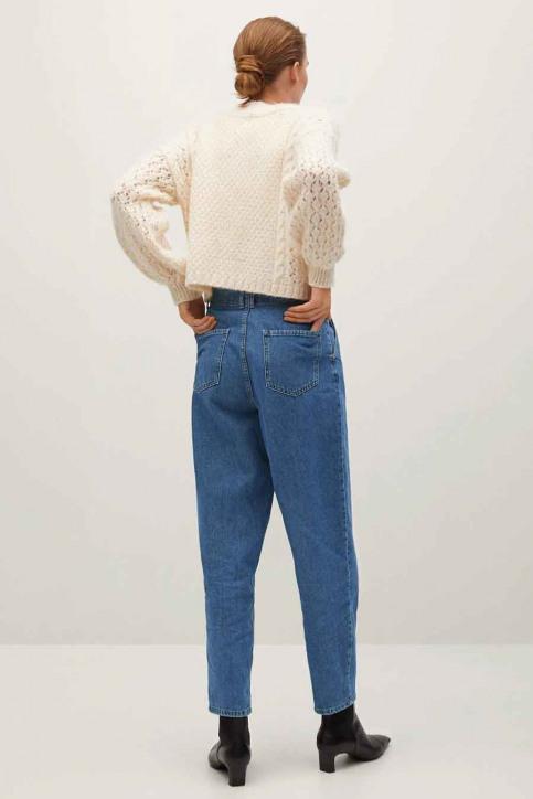 MANGO Mom Jeans blauw 77005956 MNG 20_OPEN BLUE img3