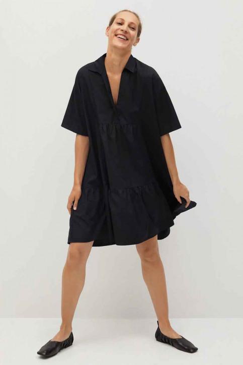 MANGO Robes courtes noir 77010553 MNG 20_99 BLACK img2