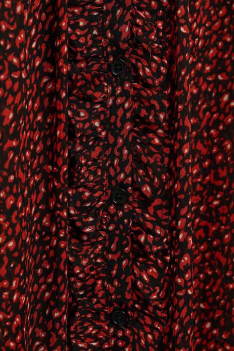 Mango Blouses (lange mouwen) rood 77015930 MNG 20_70 RED img4
