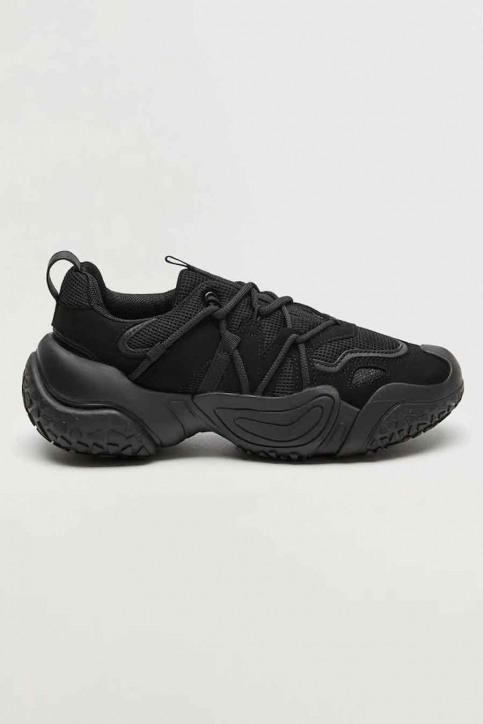 MANGO Sneakers zwart 77060532 MNG 20_BLACK img1