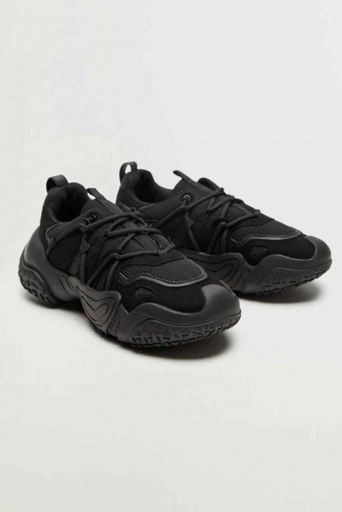 MANGO Sneakers zwart 77060532 MNG 20_BLACK img2
