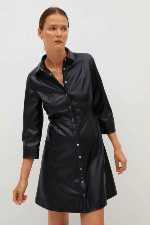 MANGO Robes courtes noir 77065913 MNG 20_99 BLACK img1