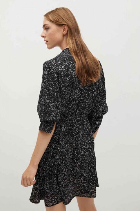MANGO Robes courtes noir 77067621 MNG 20_BLACK img3