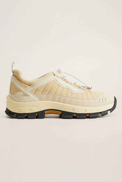 MANGO Sneakers wit 77074406 MNG 20_NATURAL WHITE img3
