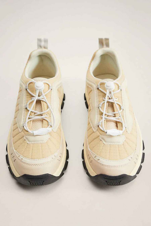 MANGO Sneakers wit 77074406 MNG 20_NATURAL WHITE img4