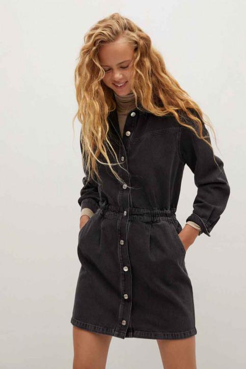 MANGO Robes courtes noir 77075955 MNG 20_TN OPEN GRAY img1