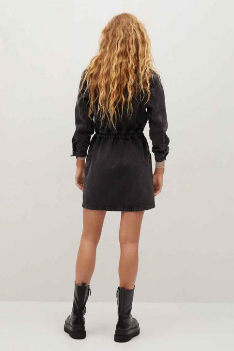 MANGO Robes courtes noir 77075955 MNG 20_TN OPEN GRAY img3