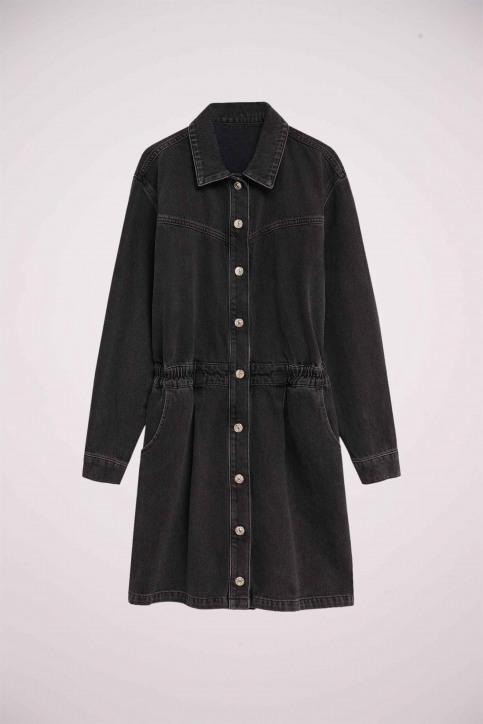 MANGO Robes courtes noir 77075955 MNG 20_TN OPEN GRAY img6