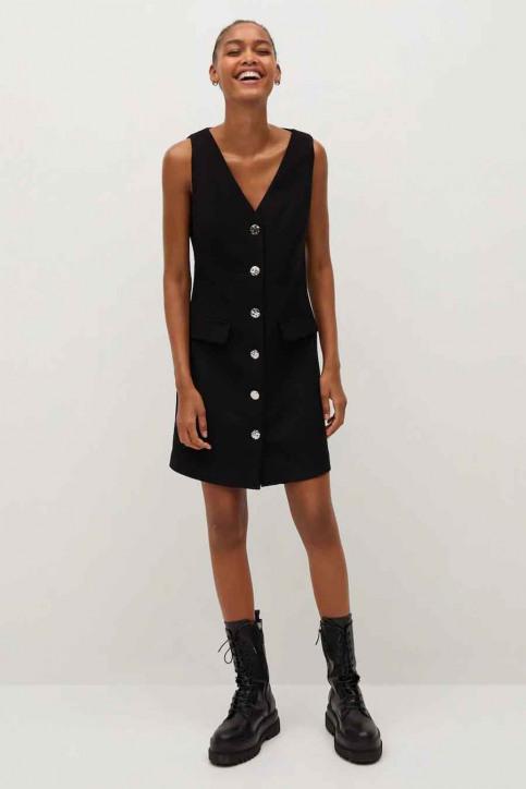 MANGO Robes courtes noir 77077614 MNG 20_99 BLACK img2
