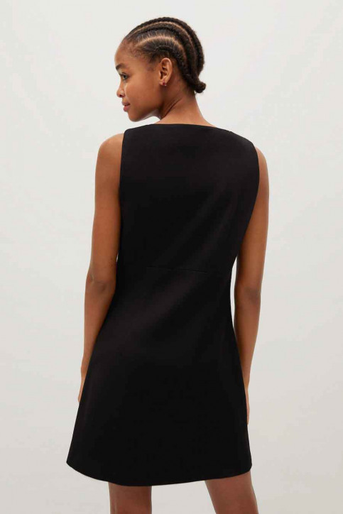 MANGO Robes courtes noir 77077614 MNG 20_99 BLACK img3