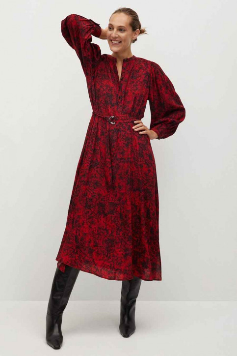 MANGO Robes longues rouge 77077618 MNG 20_RED img1