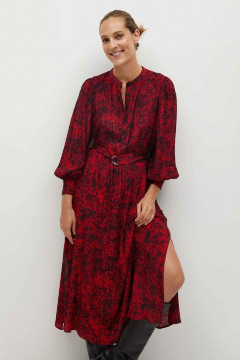 MANGO Robes longues rouge 77077618 MNG 20_RED img2