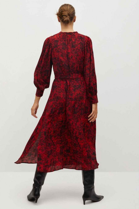 MANGO Robes longues rouge 77077618 MNG 20_RED img3