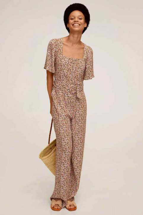 MANGO Jumpsuits geel 77082512 MNG 20_YELLOW img1