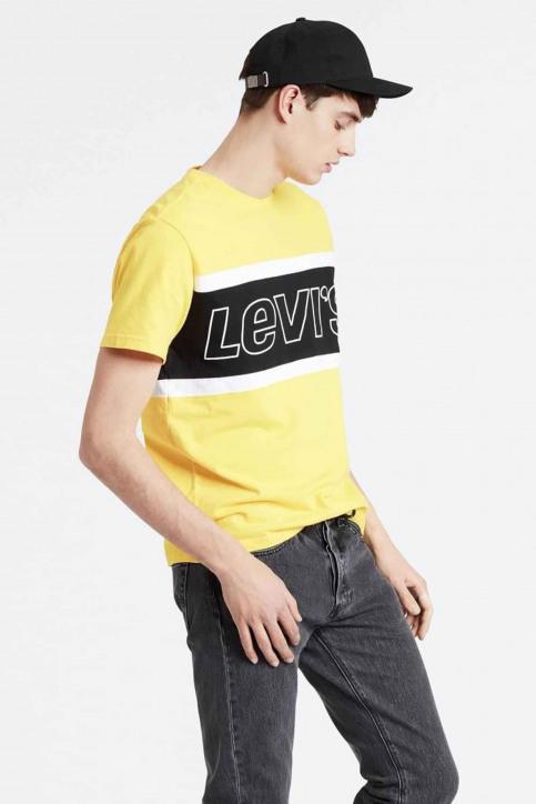 Levi's® T-shirts (korte mouwen) geel 795940002_0002 BRILLIANT img1