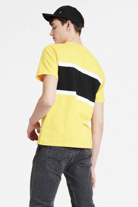 Levi's® T-shirts (korte mouwen) geel 795940002_0002 BRILLIANT img2
