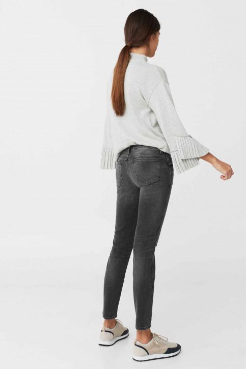 MANGO Jeans skinny gris 83003511_MNG_17_OPEN GREY img3