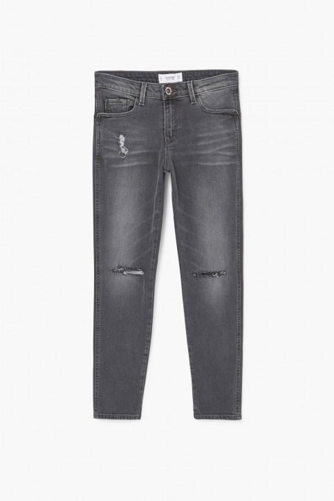MANGO Jeans skinny gris 83003511_MNG_17_OPEN GREY img4