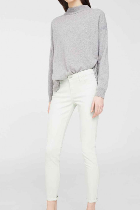 MANGO Pantalons colorés vert 83025590_MNG_17_GREEN img1