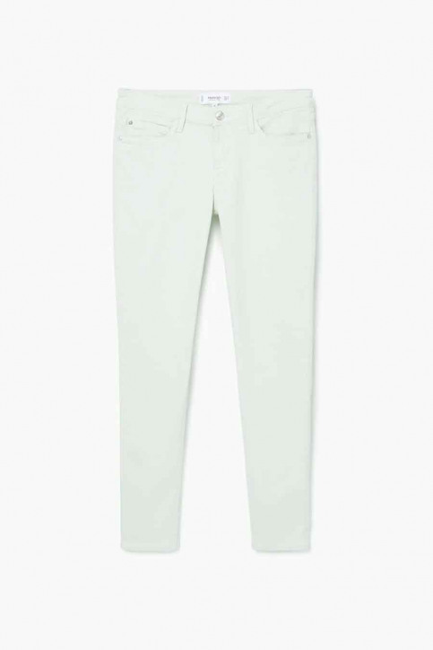 MANGO Pantalons colorés vert 83025590_MNG_17_GREEN img4