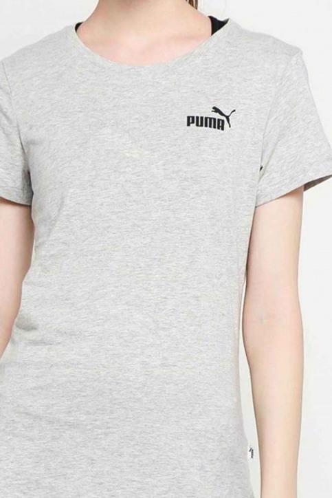Puma Tops (korte mouwen) grijs 8517860004_0004 LIGHT GRAY img5