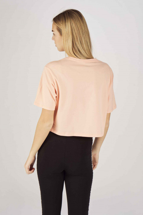 Puma T-shirts (manches courtes) orange 8525940019_0019 PEACH BUD img3