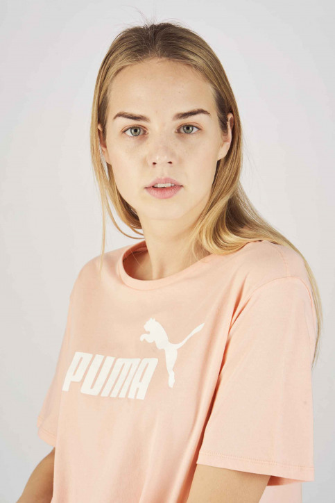 Puma T-shirts (manches courtes) orange 8525940019_0019 PEACH BUD img4