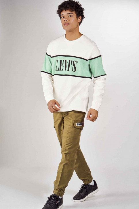 Levi's® Sweaters met ronde hals multicolor 856370000_0000 WHITE img2