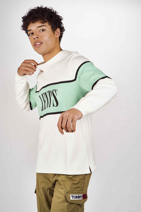 Levi's® Sweaters met ronde hals multicolor 856370000_0000 WHITE img4