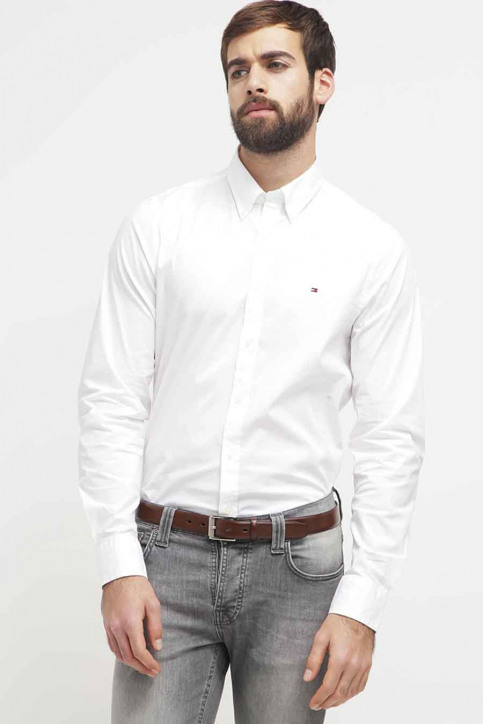 Tommy Jeans Chemises (manches longues) blanc 867894704_100 BRIGHT WHIT img1