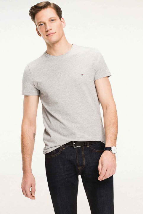 Tommy Jeans T-shirts (manches courtes) gris 867896625_501 CLOUD HTR img1
