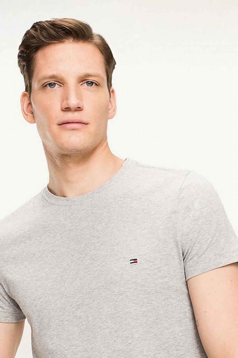 Tommy Jeans T-shirts (manches courtes) gris 867896625_501 CLOUD HTR img3