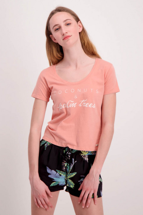 Double Agent T-shirts (manches courtes) rose 87972_509 MELOCOTON img1