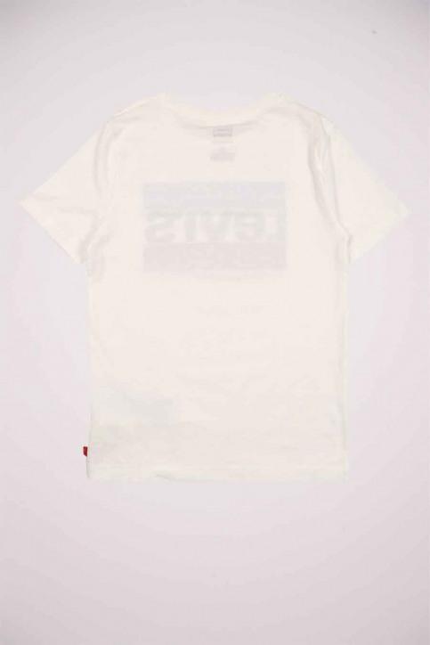 Levi's® T-shirts manches courtes blanc 9E8568_001 WHITE img3